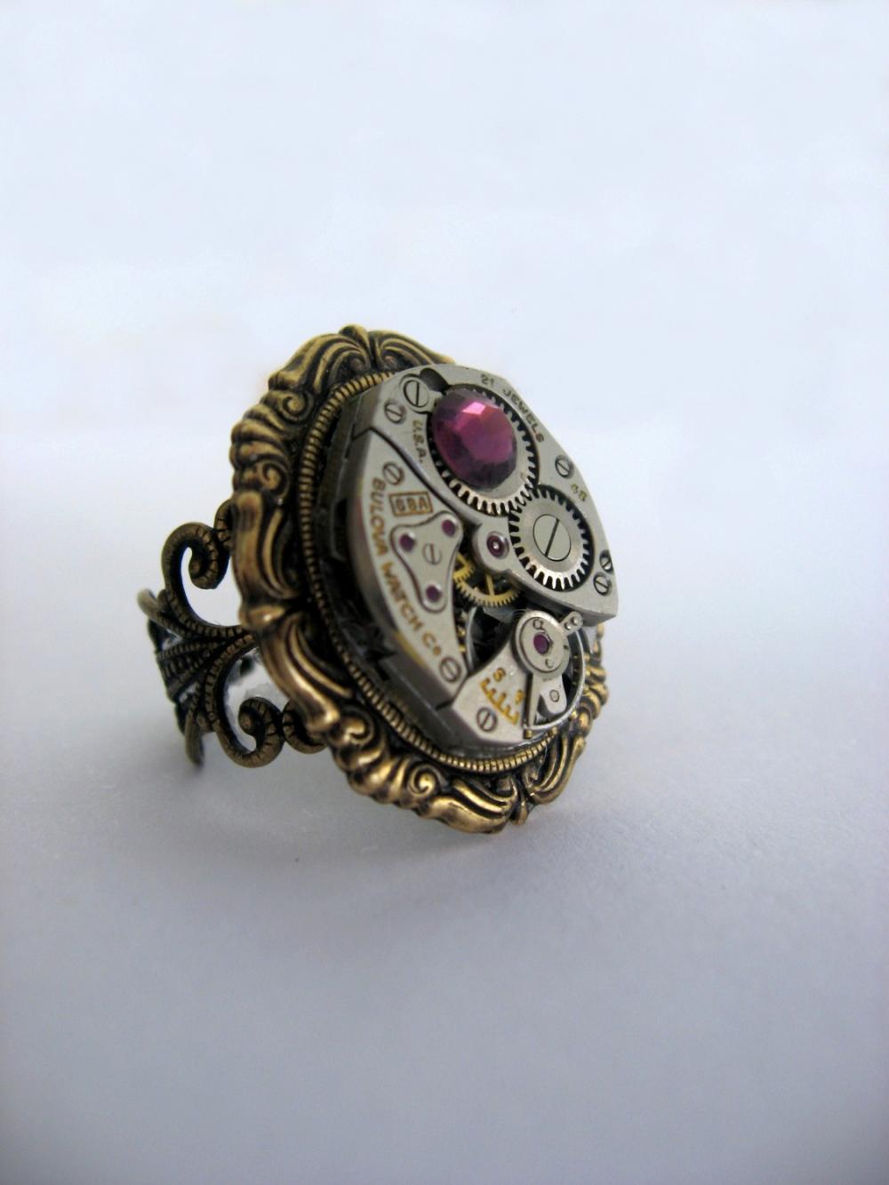 Steampunk Ring 'Amelia'