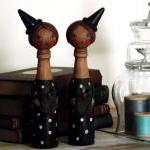 Hilda the witch - 'Bottle Whimsies'..